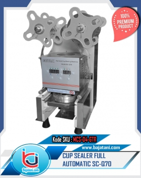 Cup sealer, automatic, full automatic